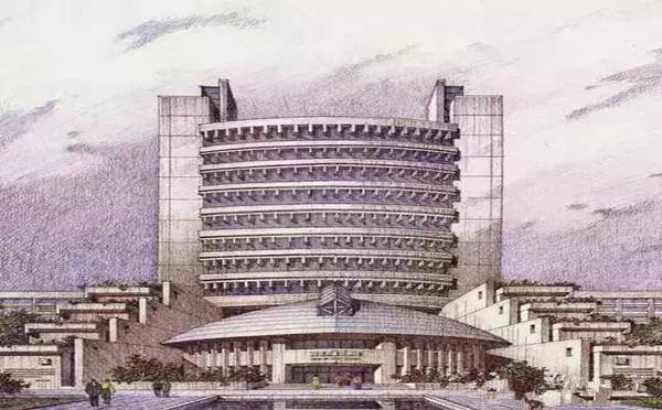 八旬院士手绘建筑设计图 精美程度堪比照片