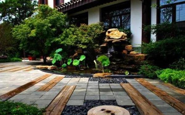 中式别墅庭院设计,太美了!